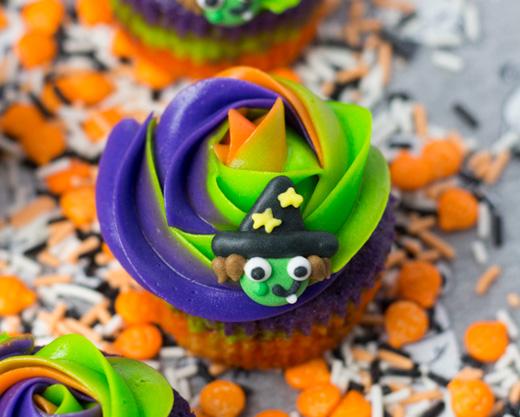 cupcakes de Halloween Al ma Obregón Supermercado El Corte Inglés