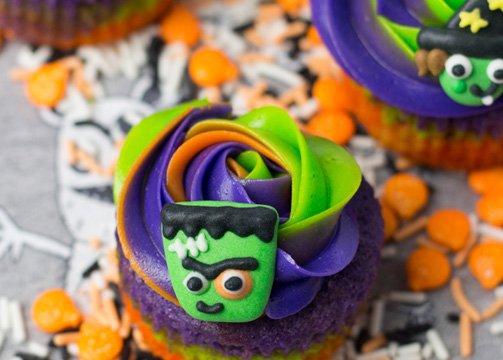 cupcakes de Halloween Alma Obregón supermercados El Corte Inglés