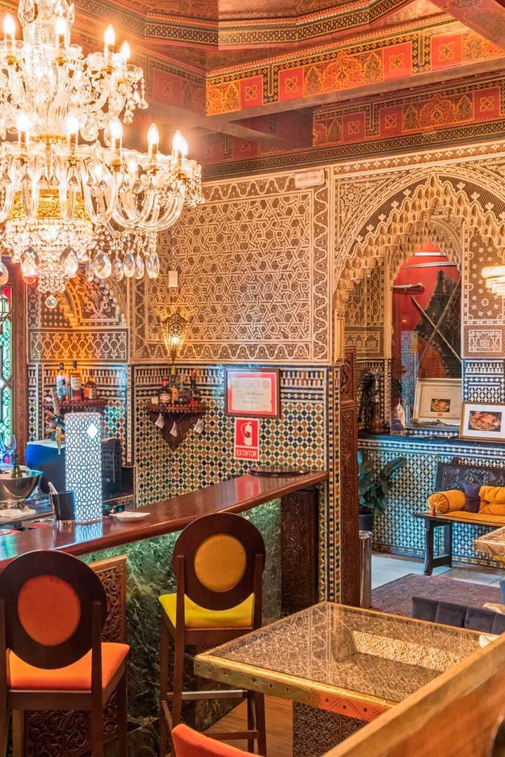 restaurantes exóticos madrid comida marroquí