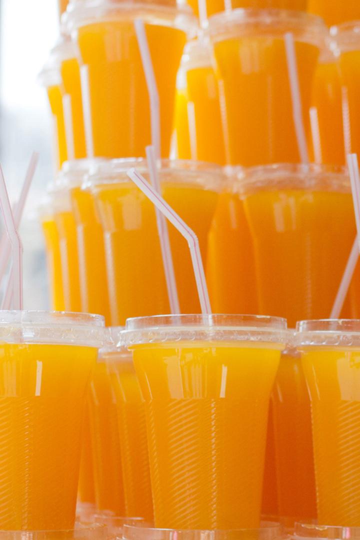 Alternativas al helado: zumos de naranja envasados