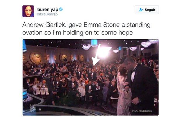 Andrew Garfield globos de oro 2017