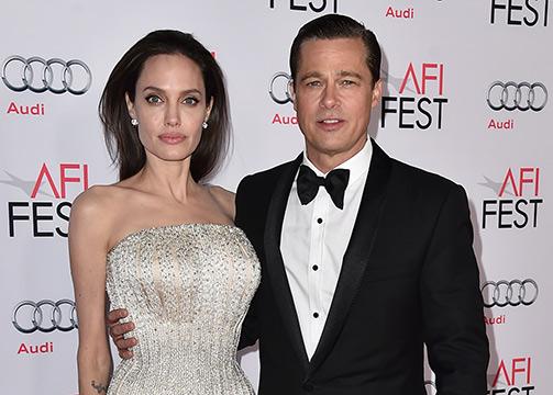 Angelina Jolie y Brad Pitt comunicado divorcio