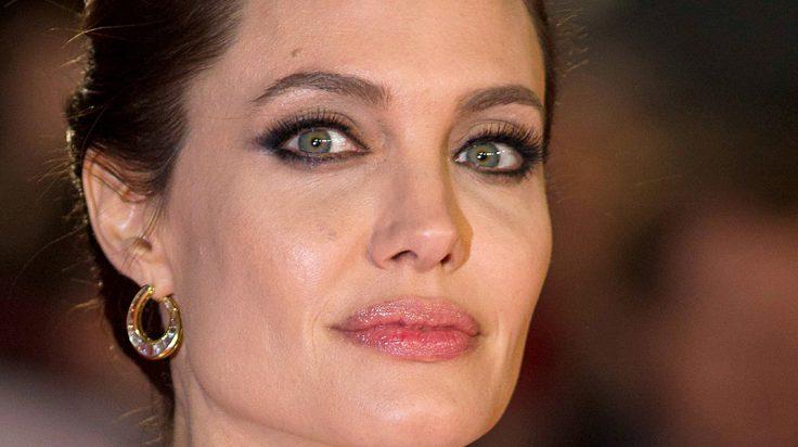Angelina Jolie primer plano