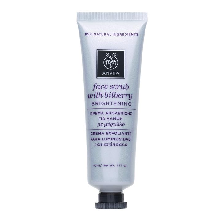 Crema Exfoliante para Luminosidad de Apivita: productos cuidar piel seca invierno