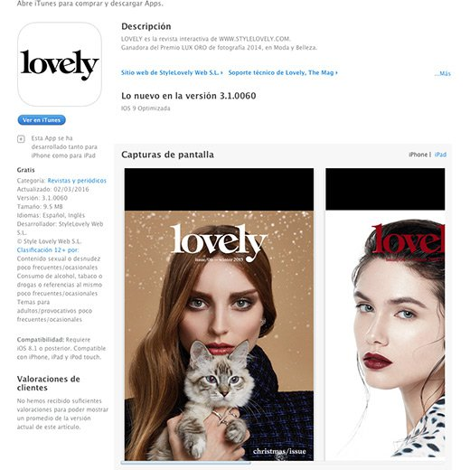 App Lovely Digital Magazine Awards