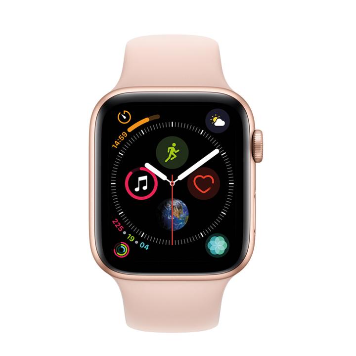 Apple Watch con correa deportiva rosa arena: ideas regalos navidad