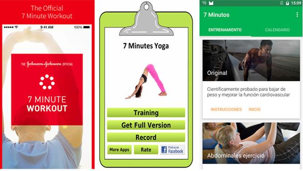 Apps para ponerse en forma en 7 minutos