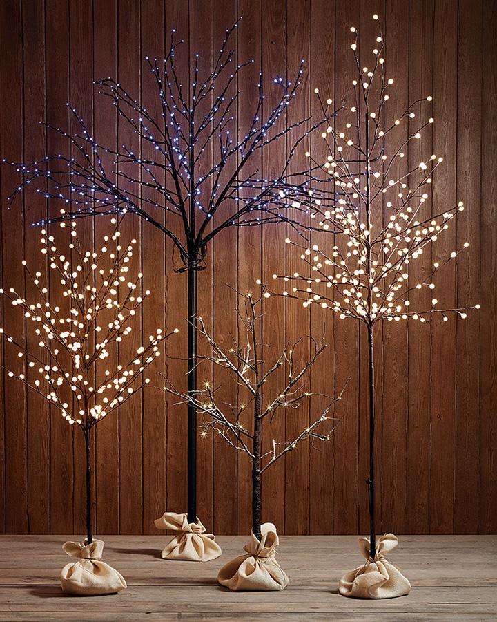 C mo decoro mi casa en navidad - Luces para arbol de navidad ...