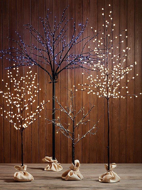 Tendencias de decoraci n para navidad - Luces arbol de navidad ...