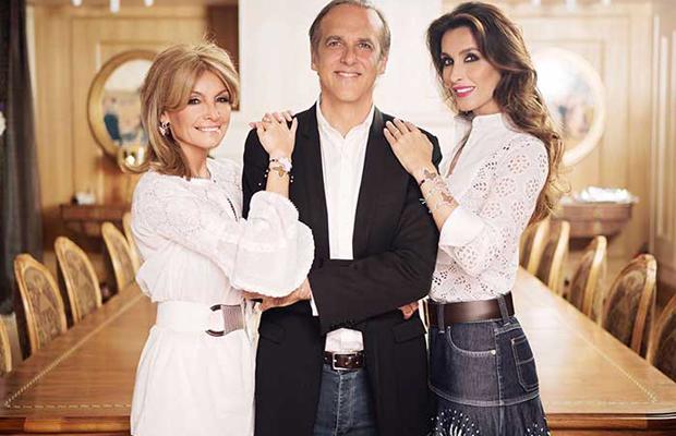 Cristina Yanes, Paco Arango y Paloma Cuevas Fundación Aladina