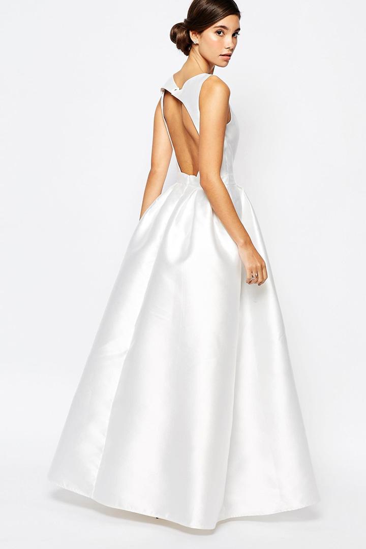 Vestido de novia clásico de Asos