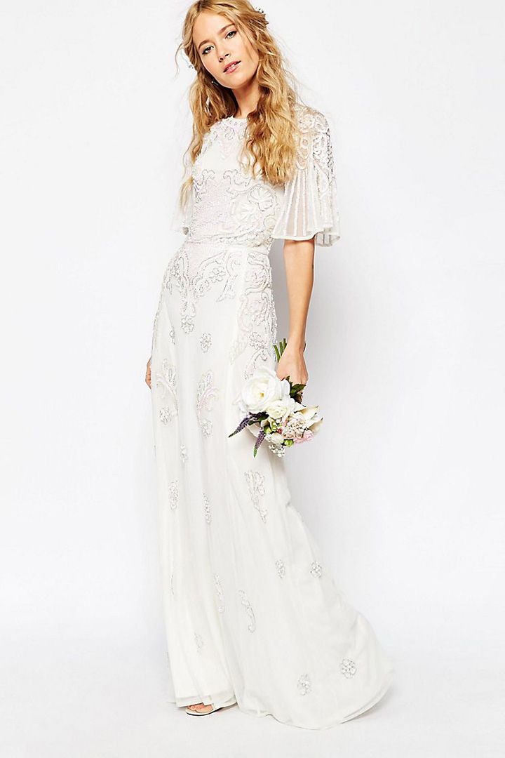 Vestidos novia asos