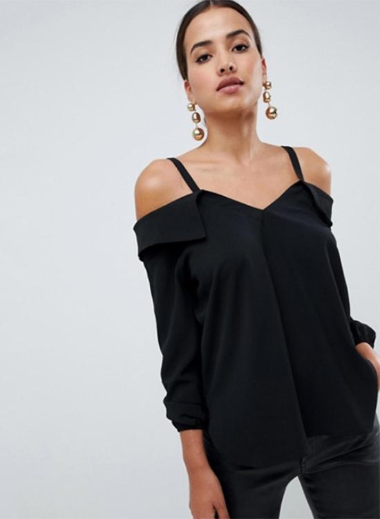 Camisa negra de Asos Outlet