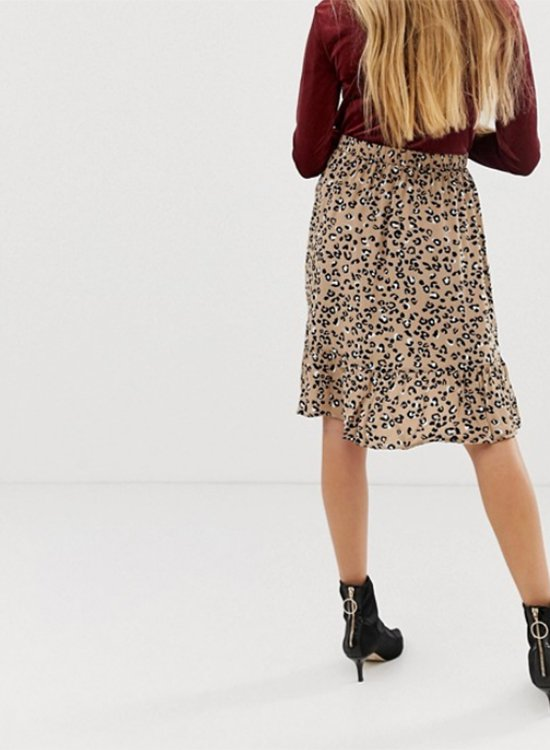 Falda de leopardo de Asos Outlet