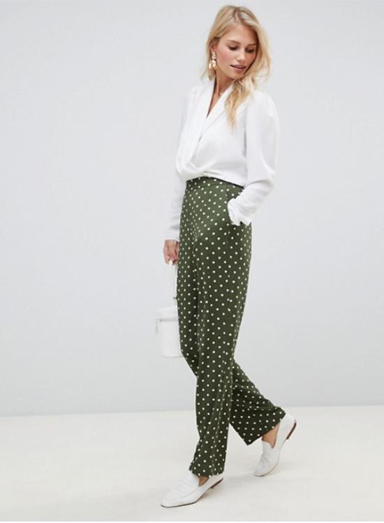 Pantalones de lunares de Asos Outlet