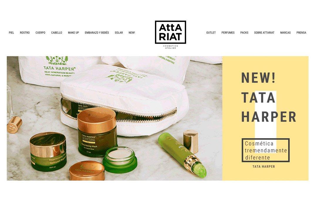 Attariat: mejores tiendas online de belleza