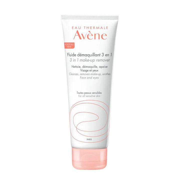 Fluido Limpiador Desmaquillante 3 en 1 de Avene: productos beauty pieles sensibles