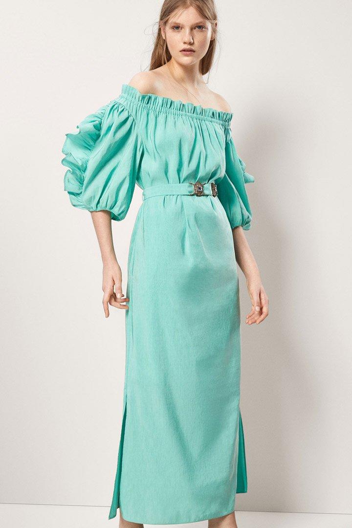 Massimo Dutti: vestidos de invitada verano