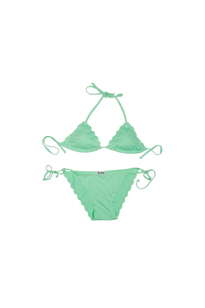 nuevo bikini verde de robin collection