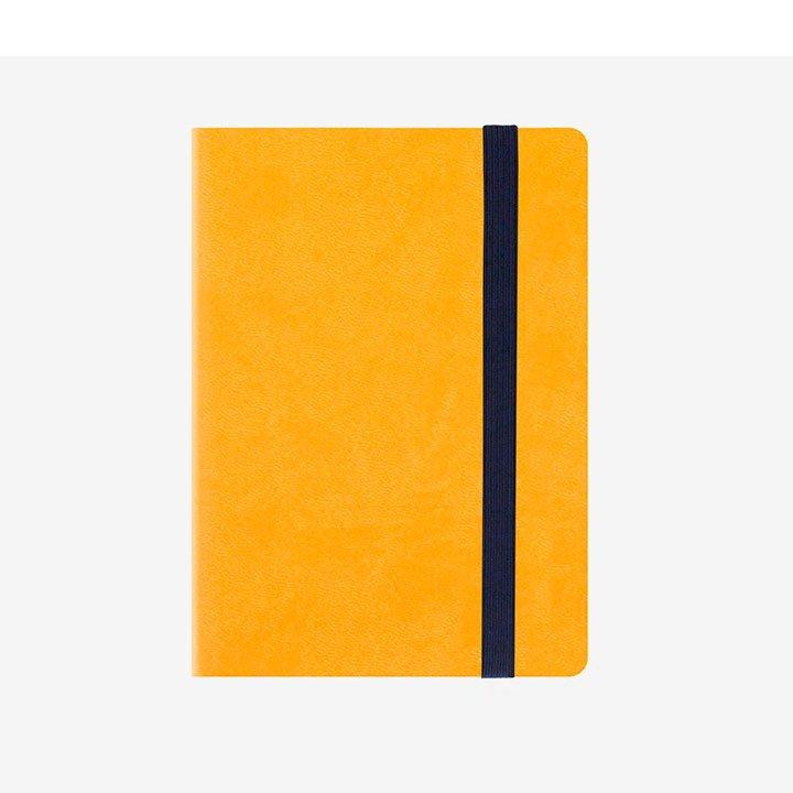 agenda amarilla para la vuelta a la oficina