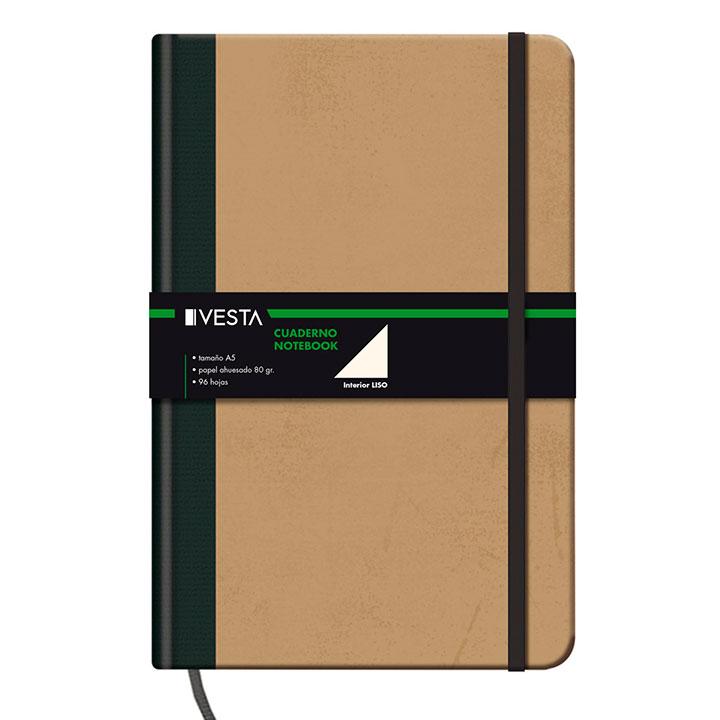 Cuaderno en blanco para la vuelta a la oficina
