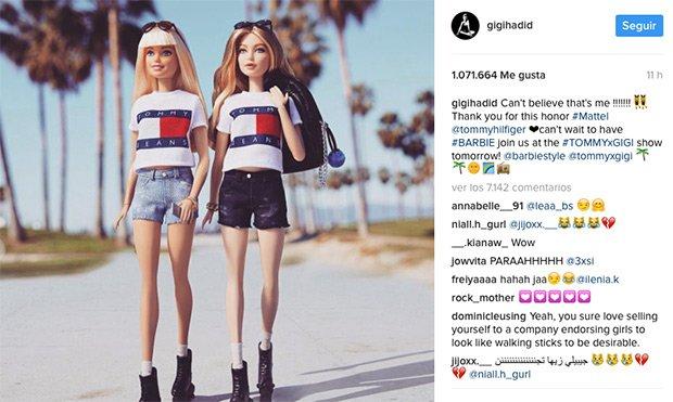 Barbie Gigi Hadid