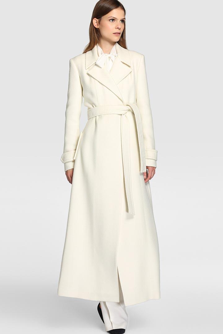 Abrigo largo corte ingles
