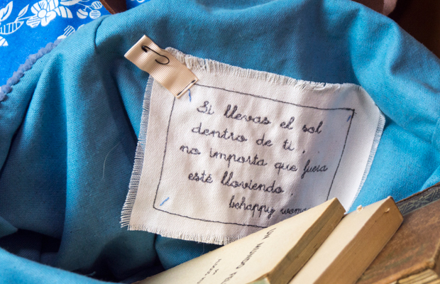 Behappy Woman los bolsos con frases de Nuria Bellés