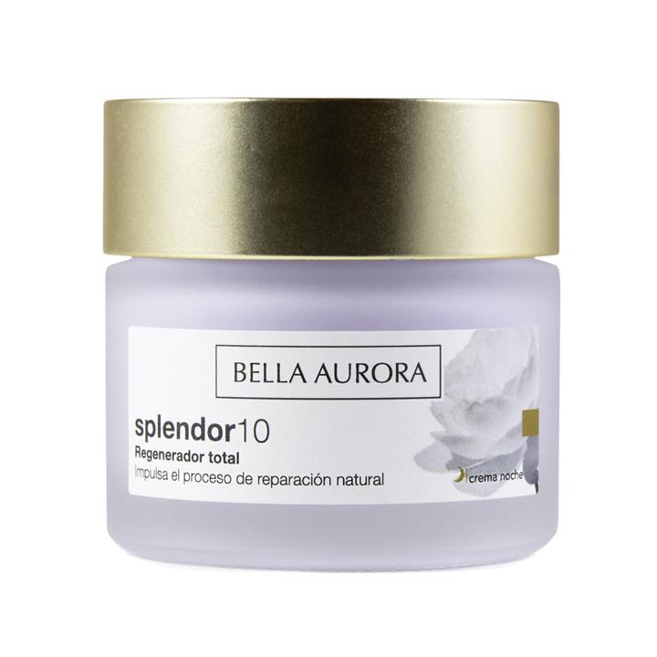 Crema Anti-Edad Splendor10 Noche de Bella Aurora: productos cuidar piel mientras duermes