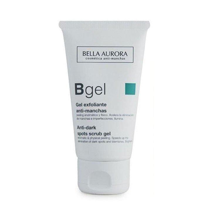 Gel exfoliante suave anti-manchas de Bella Aurora: mejores productos recuperarte vacaciones