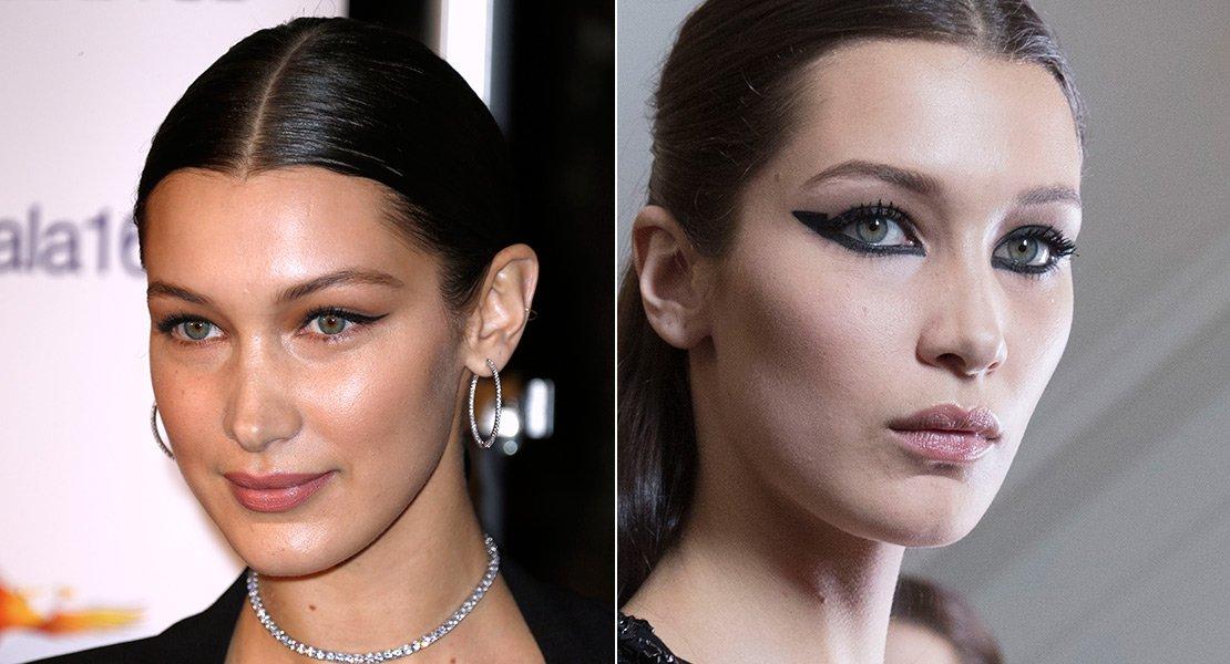 El beauty look de Bella Hadid para el día y la noche