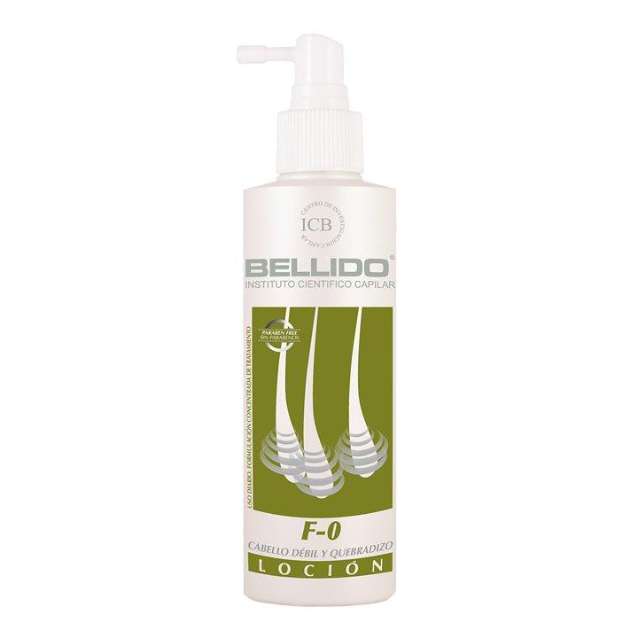 Loción F-0 Para Cabello Débil y Quebradizo de Bellido: productos caída del cabello