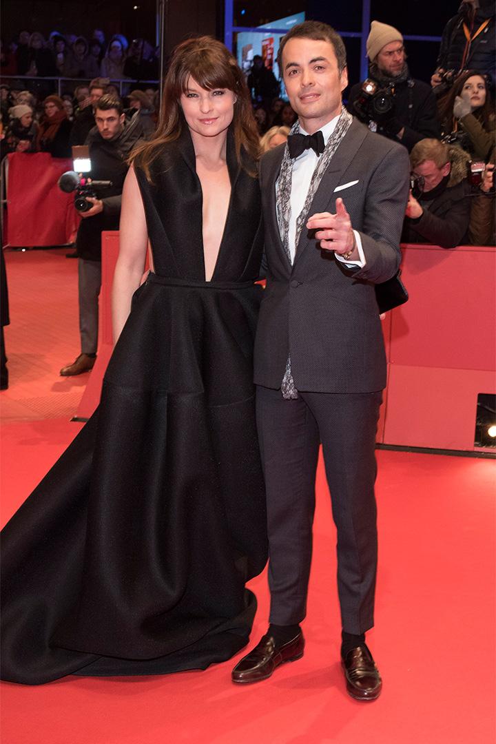 ikolai Kinski and Ina Paule Klink n la Berlinale 2018