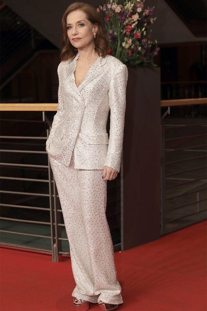 Isabelle Juppert en la Berlinale 2018