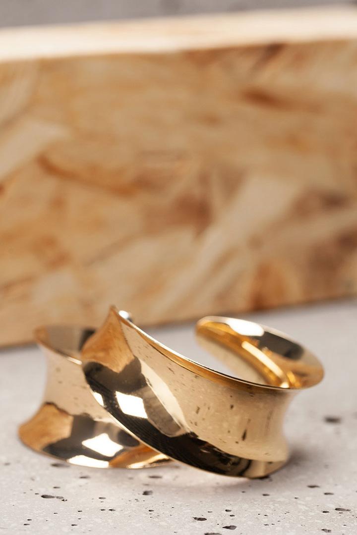 maxipendientes de oro