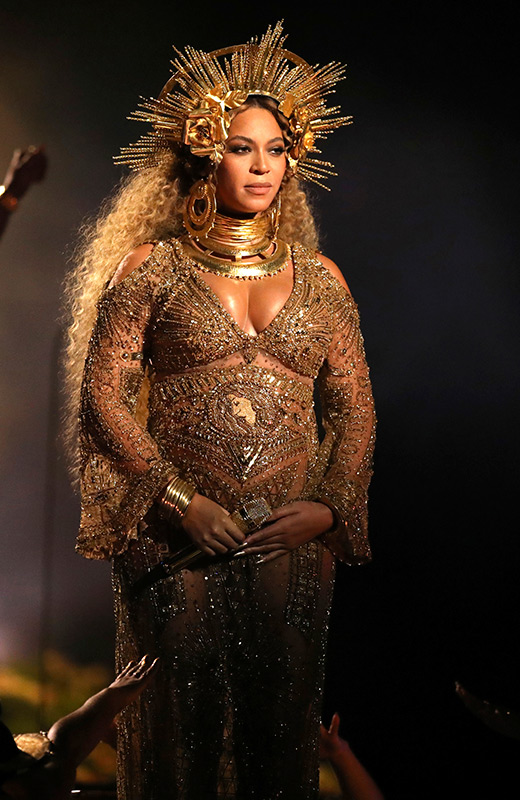 Beyonce Grammy 2017