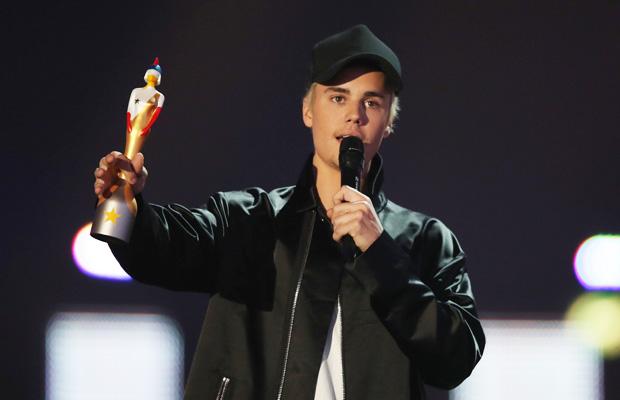 Justin Bieber ganó el premio a Mejor Artista Internacional