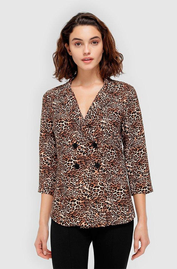 Camisa de leopardo con descuento del Black Friday de El Corte Inglés