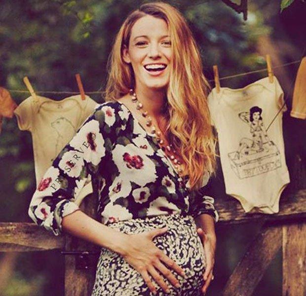 Blake lively embarazada de James
