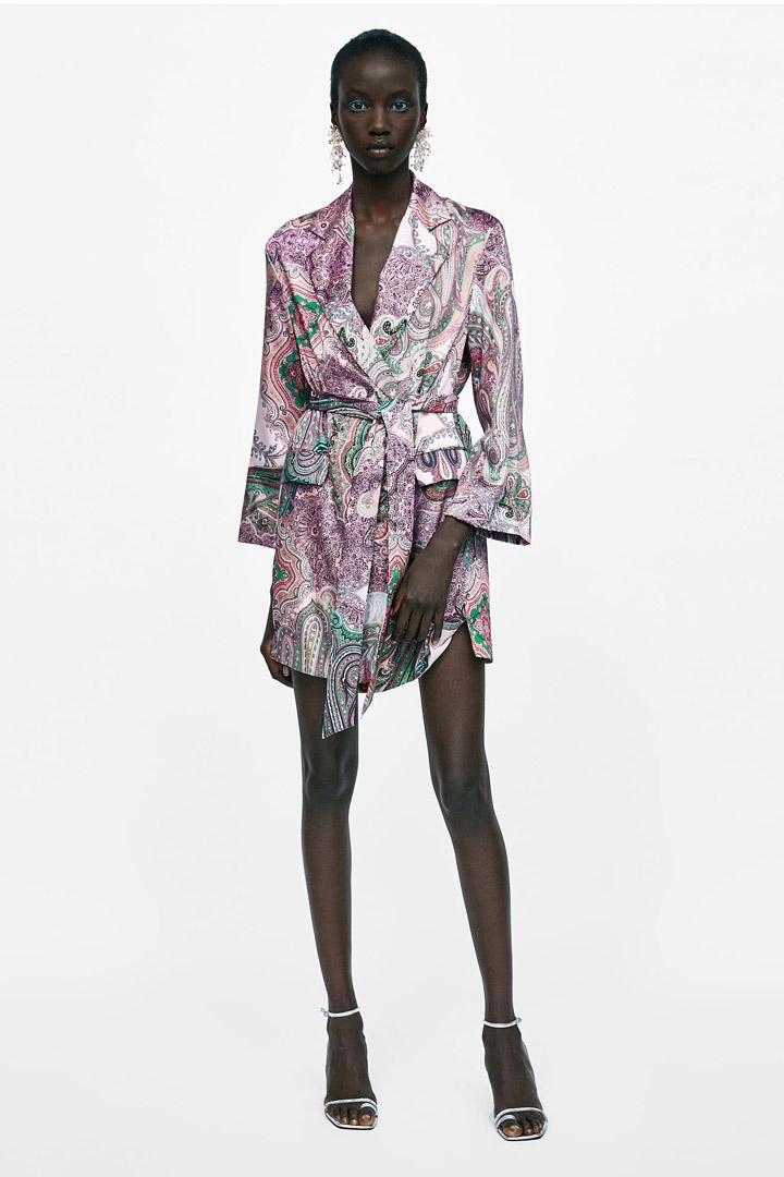Zara: vestidos de invitada verano