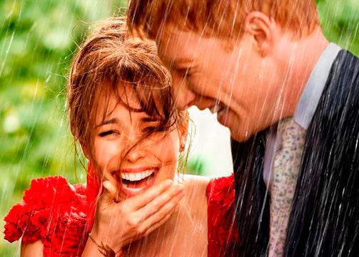 boda bajo la lluvia