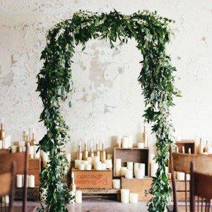 Decoración bodas de invierno