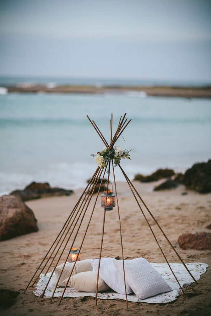 Ideas para casarse en la playa: decoración