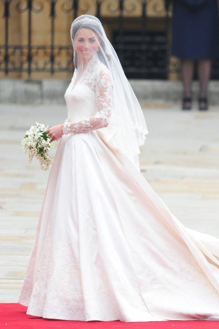 katte middleton los vestidos de las princesas de alexander mcqueen