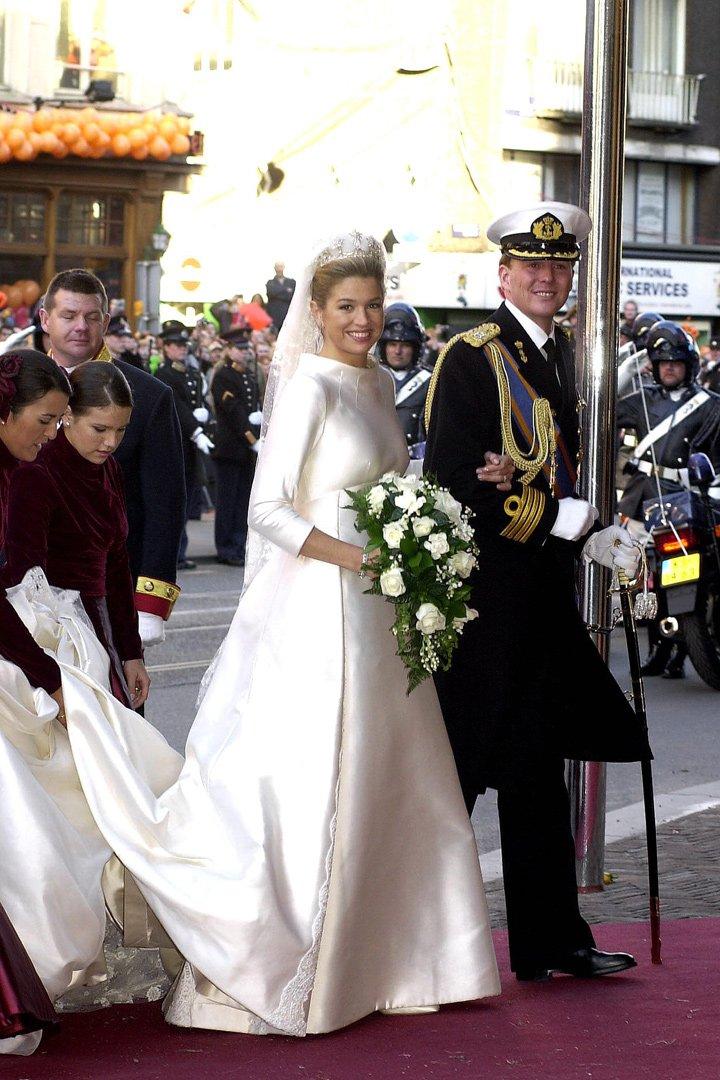 maxima de holanda los vestidos de las princesas de valentino