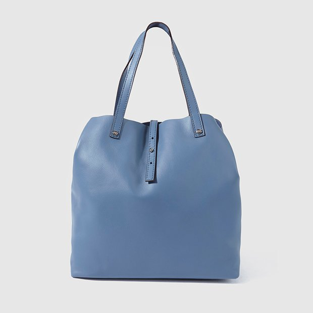 Bolso shopper azul de Gloria Ortiz