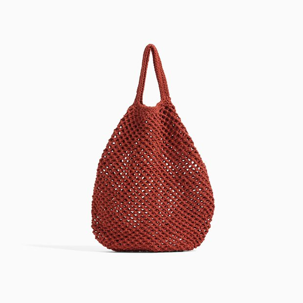Bolso de red de Zara Kids invierno 2018