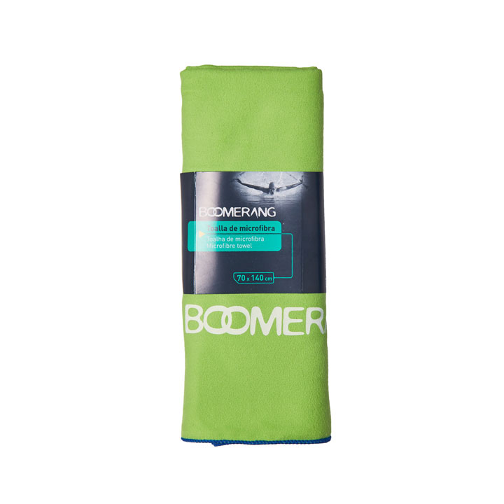 Toalla de microfibra de Boomerang: prendas accesorios deporte casa