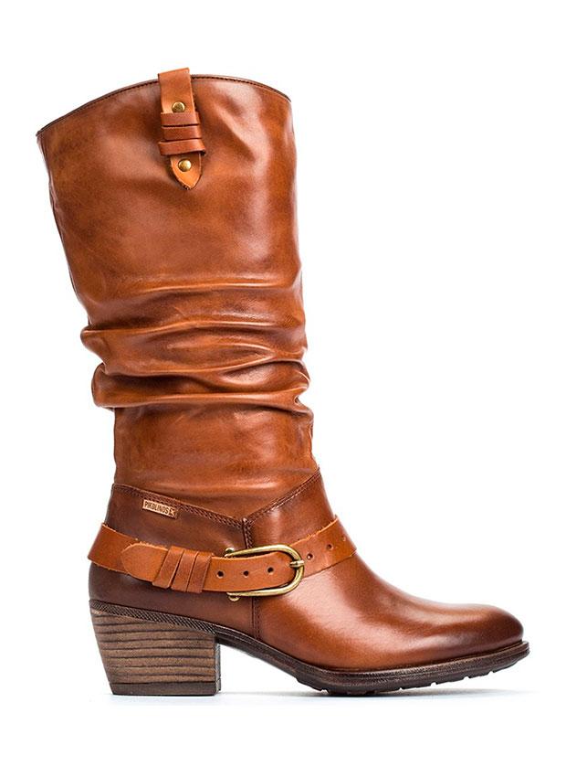 Botas de caña alta estilo cowboy