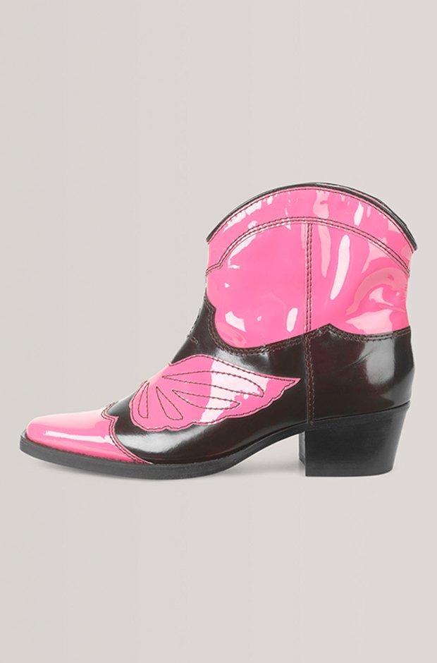 Botas cowboy de Ganni